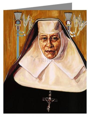 Note Card - St. Katharine Drexel by L. Williams
