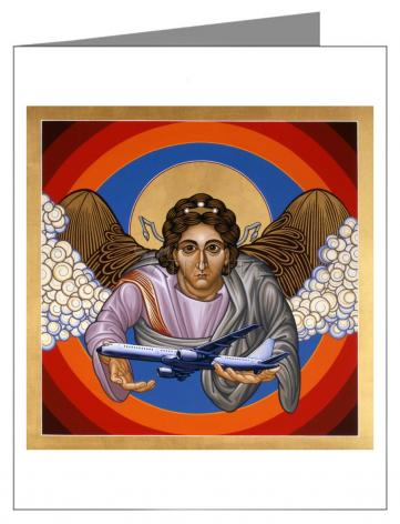 Note Card - St. Raphael Archangel by L. Williams