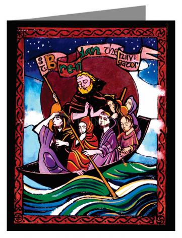 Note Card - St. Brendan the Navigator by M. McGrath