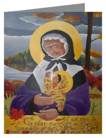Note Card - St. Marguerite Bourgeoys by M. McGrath