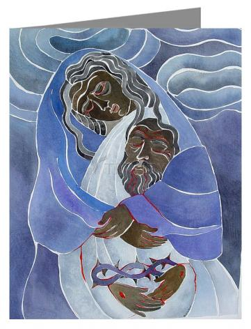 Note Card - Mary, Mother of Sorrows by M. McGrath
