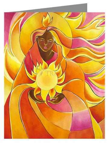 Note Card - Mary, Our Lady of Light by M. McGrath