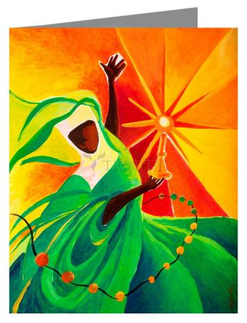Note Card - Sr. Thea Bowman: This Little Light Of Mine by M. McGrath