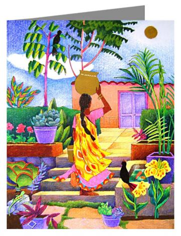 Note Card - Woman at the Well by M. McGrath
