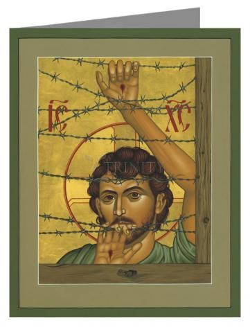 Note Card - Christ of Maryknoll by R. Lentz