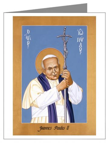 Note Card - St. John Paul II by R. Lentz