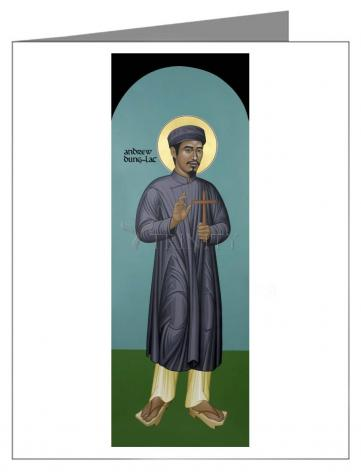 Note Card - St. Andrew Dung-Lac by R. Lentz