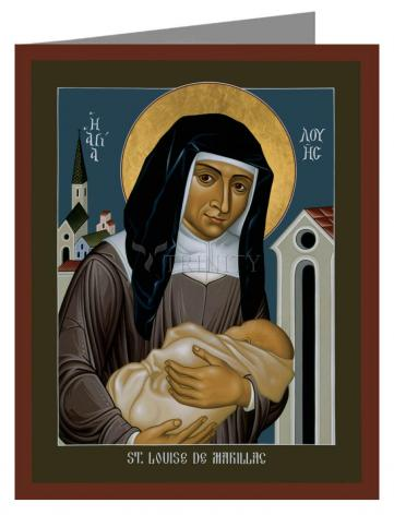 Note Card - St. Louise de Marillac by R. Lentz