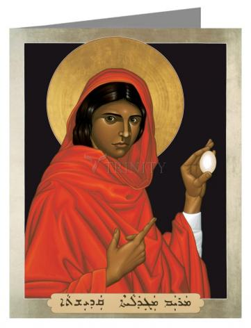 Note Card - St. Mary Magdalene by R. Lentz