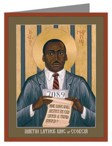 Note Card - Martin Luther King of Georgia by R. Lentz
