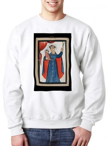 Sweatshirt - St. Anthony of Padua by A. Olivas