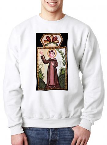 Sweatshirt - St. Francis of Assisi by A. Olivas