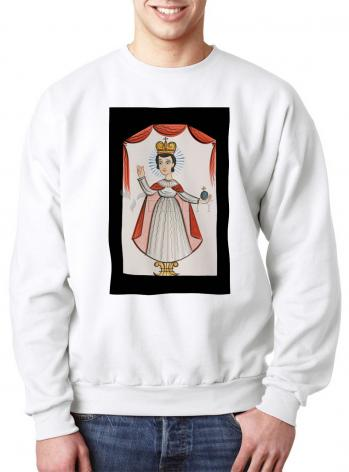 Sweatshirt - Infant of Prague by A. Olivas