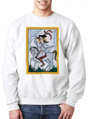 Sweatshirt - St. James the Greater, Apostle of Compostela by A. Olivas