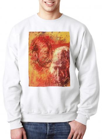 Sweatshirt - Heart of Ignatius on Mind of Arrupe by B. Gilroy