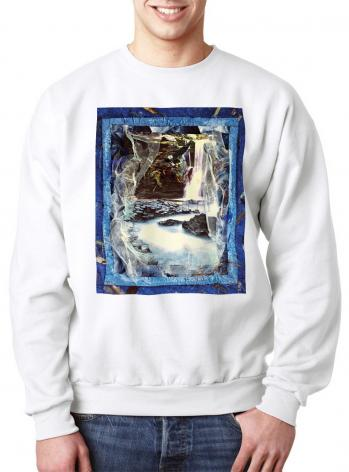 Sweatshirt - Eagles Rest Upon Air by B. Gilroy