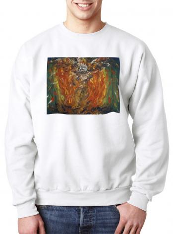 Sweatshirt - Eagle in Fire That Does Not Burn by B. Gilroy
