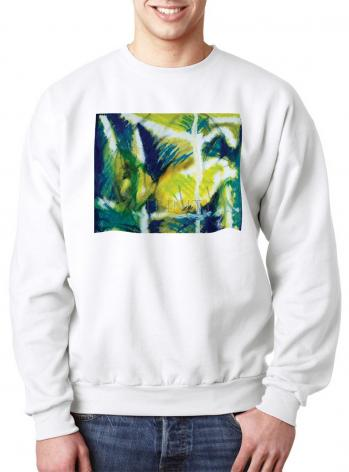 Sweatshirt - Fish In Net by B. Gilroy