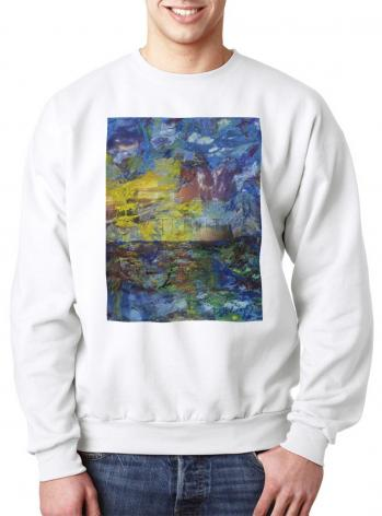 Sweatshirt - Let There Be Light by B. Gilroy