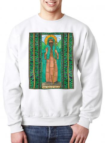 Sweatshirt - St. Declan of Ardmore by B. Nippert