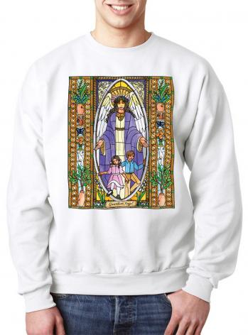 Sweatshirt - Guardian Angel by B. Nippert