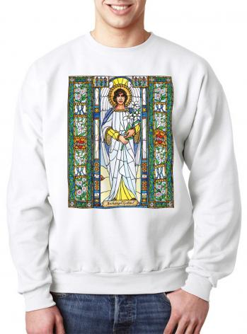 Sweatshirt - St. Gabriel Archangel by B. Nippert