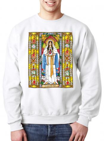 Sweatshirt - Immaculate Heart of Mary by B. Nippert