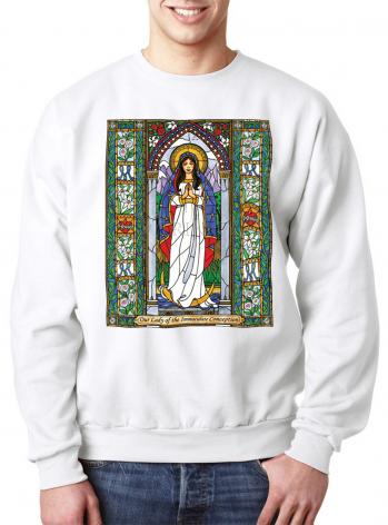 Sweatshirt - Our Lady of the Immaculate Conception by B. Nippert