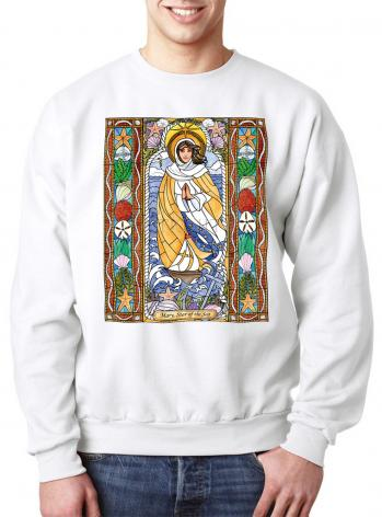 Sweatshirt - Our Lady Star of the Sea by B. Nippert
