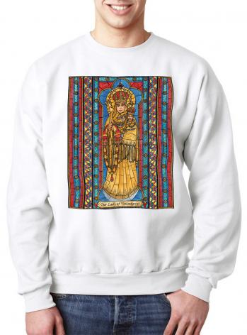 Sweatshirt - Our Lady of Vailankanni by B. Nippert
