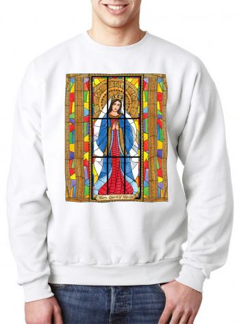 Sweatshirt - Mary, Queen of Heaven by B. Nippert