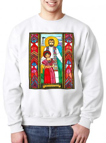 Sweatshirt - Bl. Stanley Rother by B. Nippert