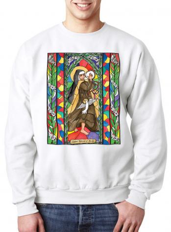 Sweatshirt - St. Teresa of Avila by B. Nippert