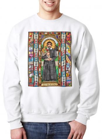 Sweatshirt - St. Vincent de Paul by B. Nippert