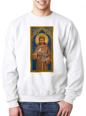 Sweatshirt - St. Francis of Assisi by J. Cole