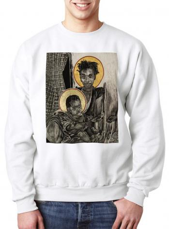 Sweatshirt - Christmas Madonna - Haiti by L. Williams
