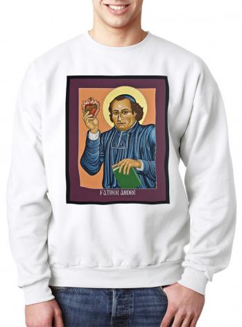 Sweatshirt - Fr. Andre' Coindre by L. Williams