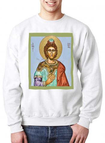 Sweatshirt - St. Daniel the Prophet by L. Williams