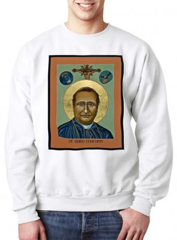 Sweatshirt - St. Guido Maria Conforti by L. Williams