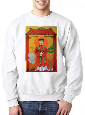 Sweatshirt - St. Andrew Dung-Lac by M. McGrath