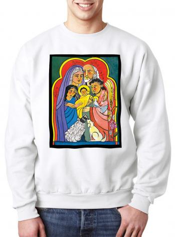 Sweatshirt - Extended Holy Family by M. McGrath