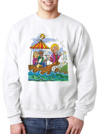Sweatshirt - St. Paul: Greet Sts. Priscilla and Aquila by M. McGrath