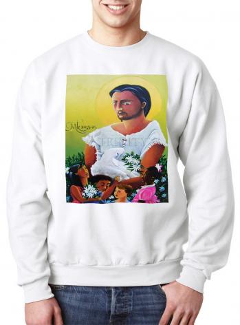 Sweatshirt - Jesus and the Holy Innocents by M. McGrath