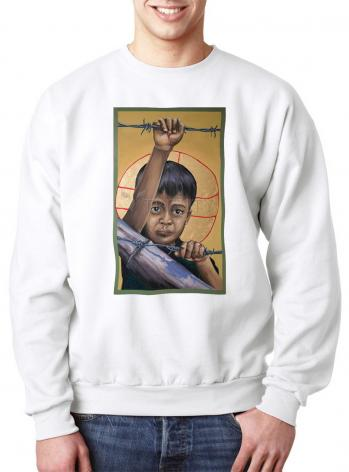 Sweatshirt - Christ the Dreamer by M. Reyes