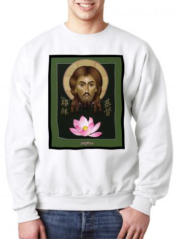 Sweatshirt - Christ Sophia: The Word of God by M. Reyes