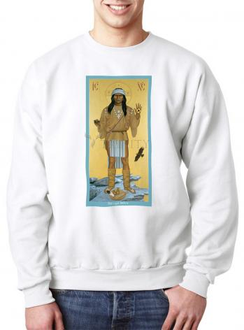 Sweatshirt - Apache Christ by R. Lentz