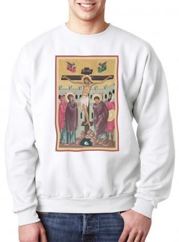 Sweatshirt - Crucifixion by R. Lentz