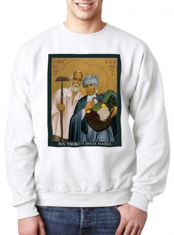 Sweatshirt - Sts. Isidore and Maria by R. Lentz