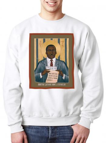 Sweatshirt - Martin Luther King of Georgia by R. Lentz