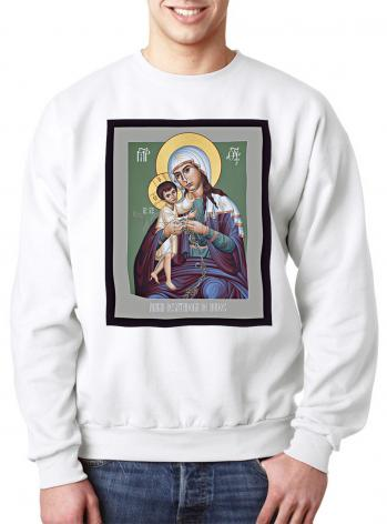 Sweatshirt - Mary, Undoer of Knots - Spanish by R. Lentz